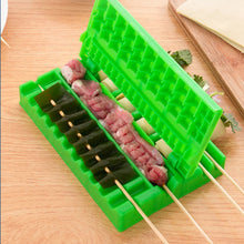 Load image into Gallery viewer, Barbecue Stringer Skewers Kebab Maker Box Machine Beef Meat Vegetable String Grill Barbecue Kitchen Accessories BBQ Gadget