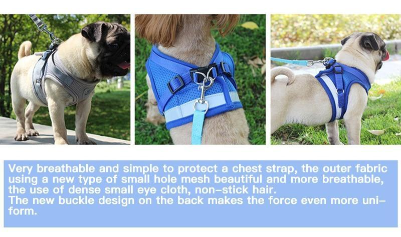Adjustable Reflective Dog Vest