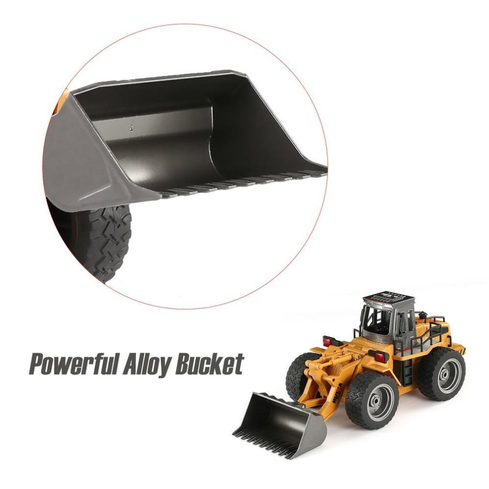 2020 Remote Control Metal Bulldozer Front Loader