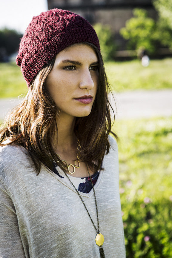 Margot Hat Burgundy