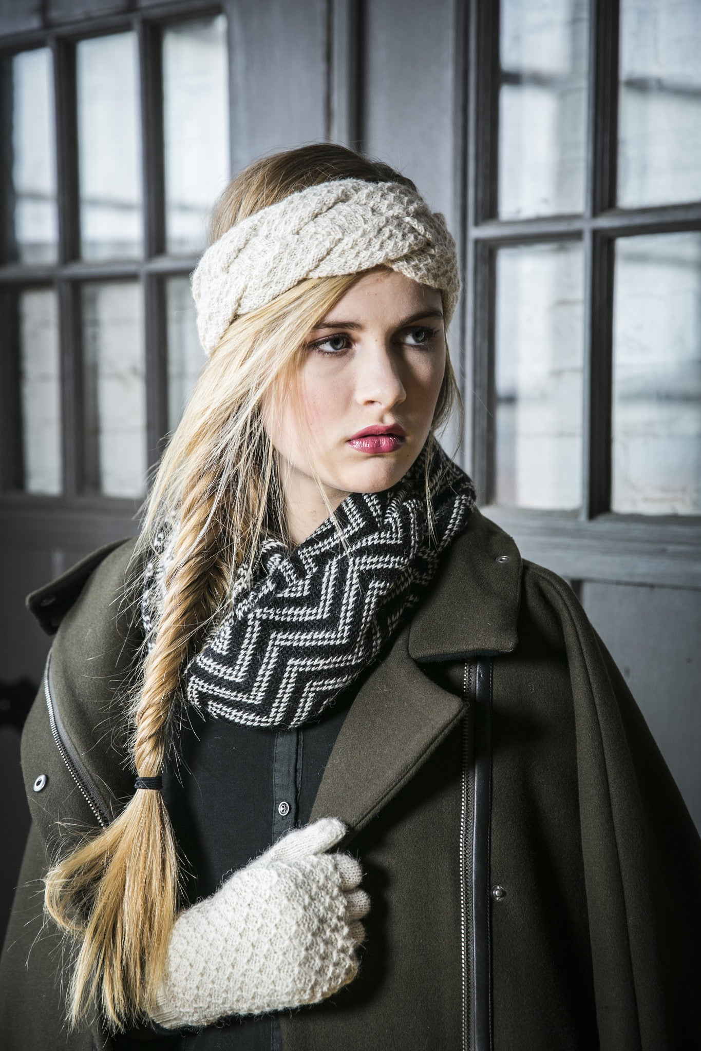 Ethical Alpaca Infinity Scarves