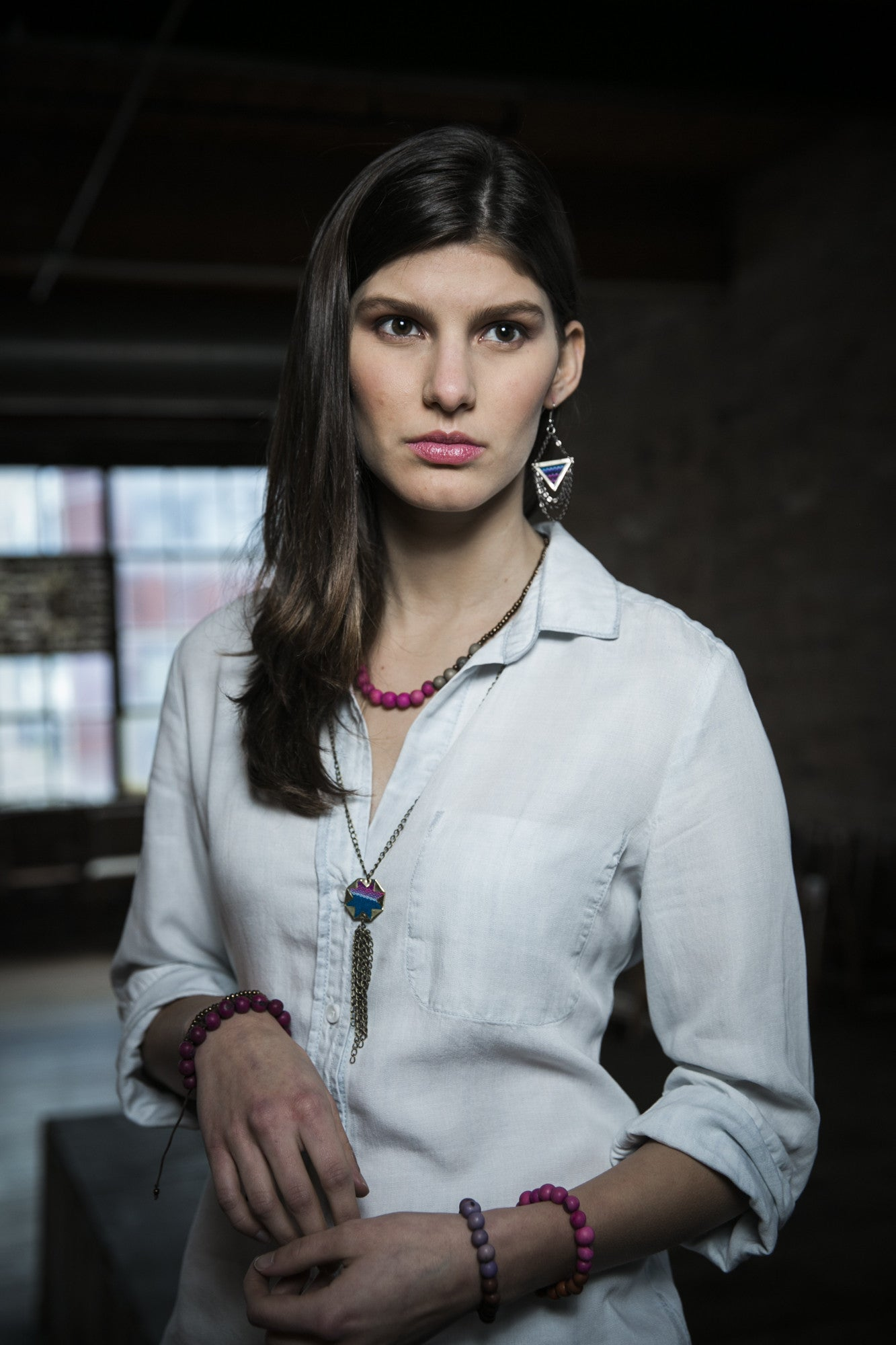 Fair Trade Aguayo Cloth Necklaces