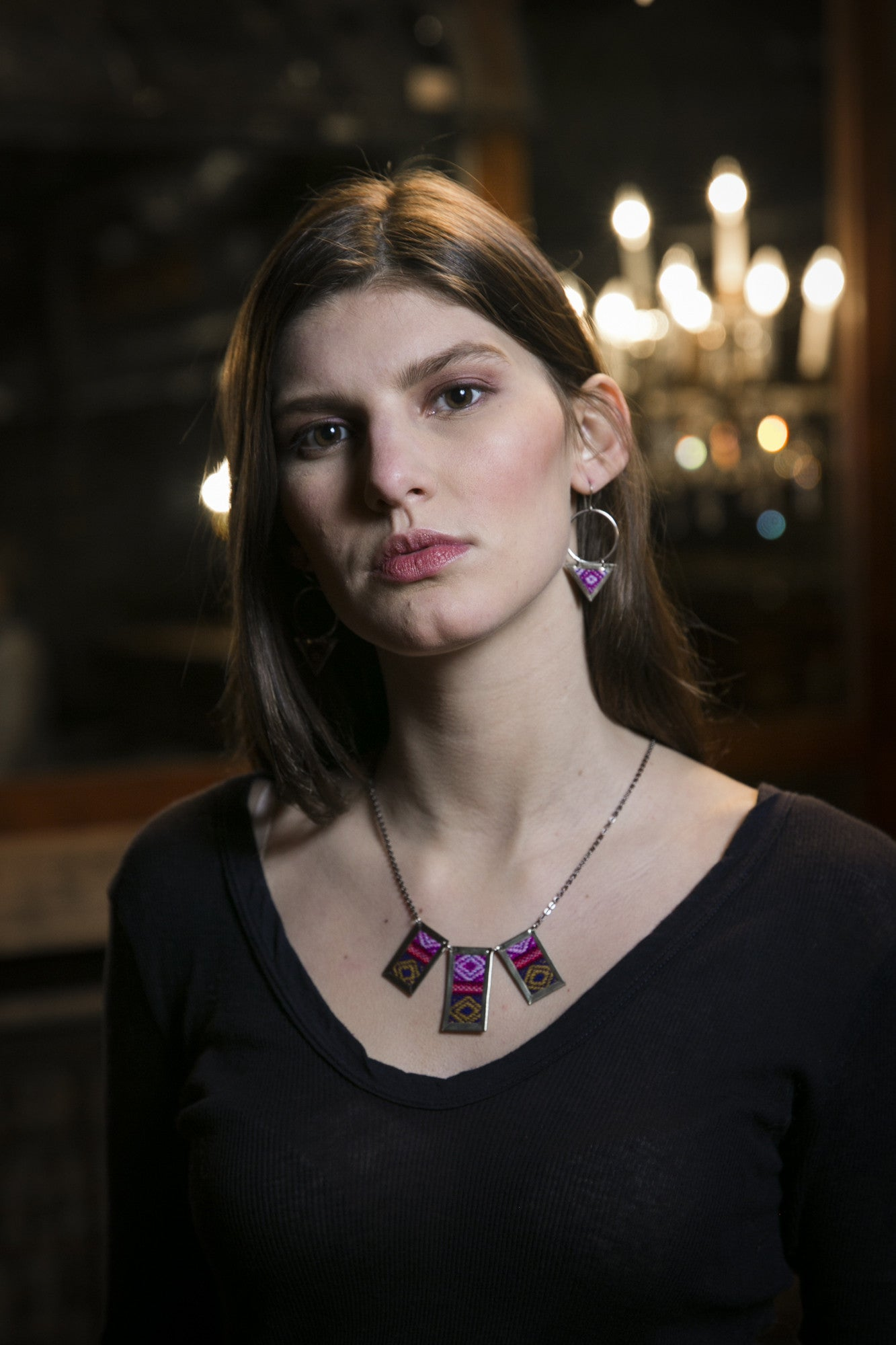 Ethically Made Fabric Jewelry Greenola