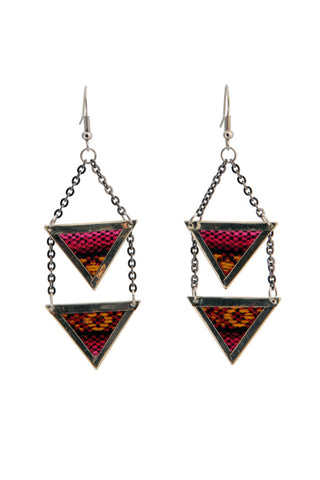 Fair Trade Amina Earrings Greenola Style