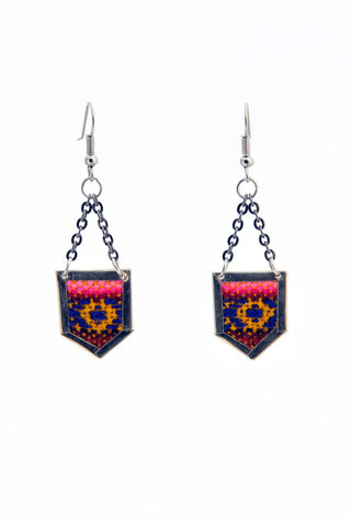 Fair Trade Archer Earrings Greenola Style