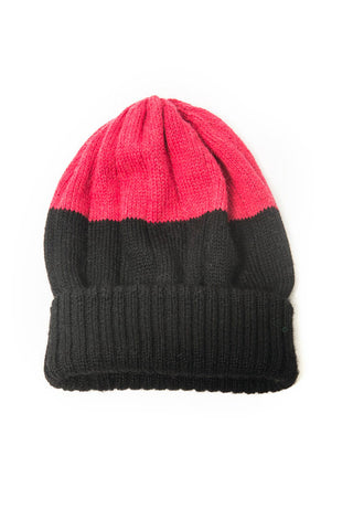 Fair Trade Bailey Hat Black and Pink