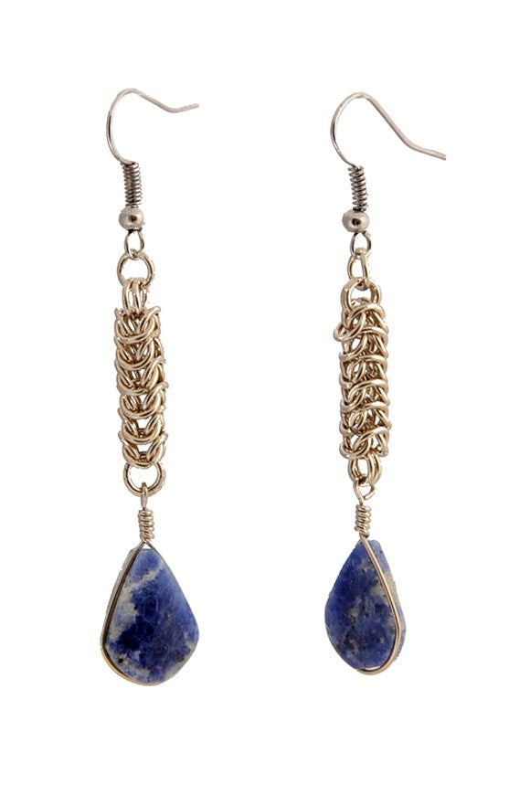 Fair Trade Bolivian Stone Earrings Greenola