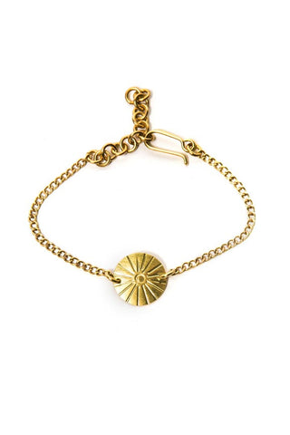 Fair Trade Brass Darling Bracelet