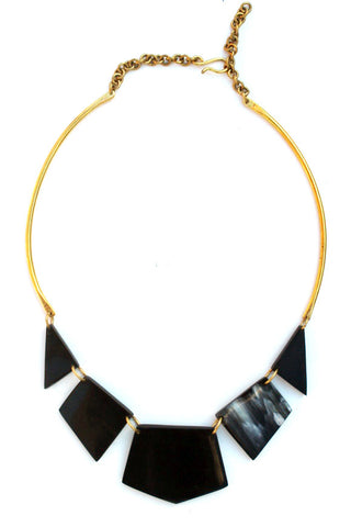 Dorian Horn Necklace