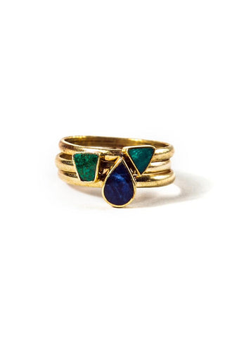 Fair Trade Elizabeth Rings Stackable
