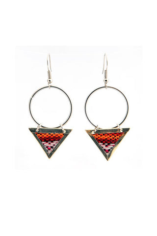 Fair Trade Enyo Earrings Greenola