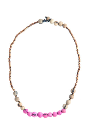 Eco Friendly Acai Seed Sucre Necklace