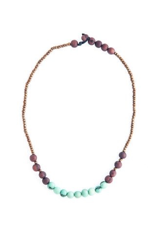 Handmade Rainforest Seed Sucre Necklace