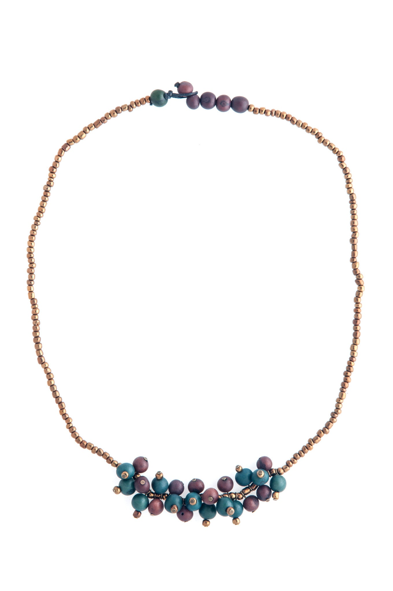 Eco Friendly Acai Seed Uyuni Necklace