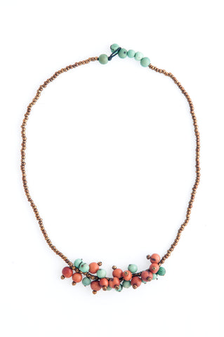 Fair Trade Acai Seed Uyuni Necklace