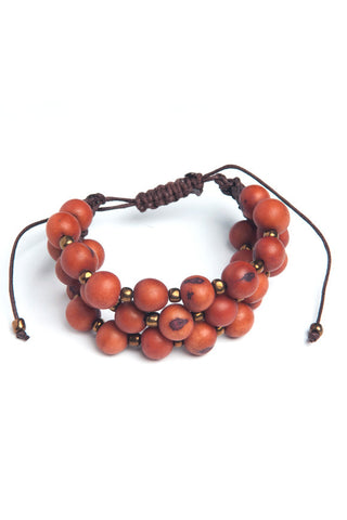 Eco Friendly Acai Seed Prado Bracelet