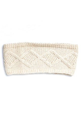 Fair Trade Karina Headband Cream