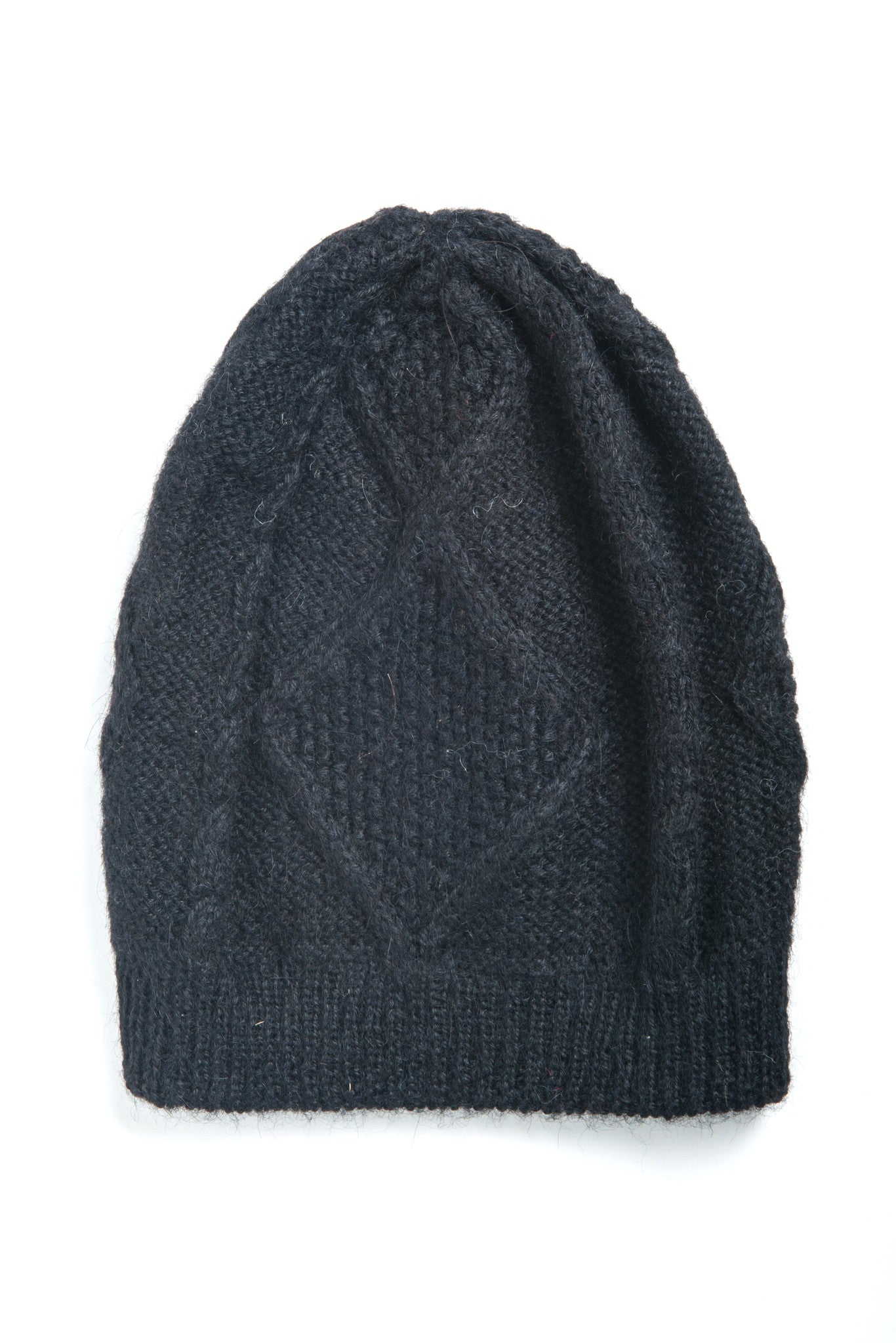 Fair Trade Alpaca Gabriela Hat Black