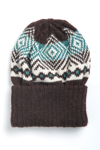 Ethical Alpaca Lars Hat Brown