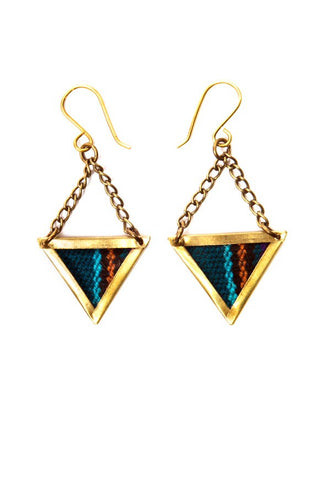 Fair Trade Helio Earrings Greenola