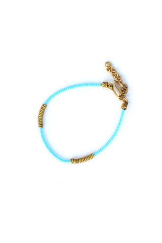 Imani Maasai Bracelet Light Blue