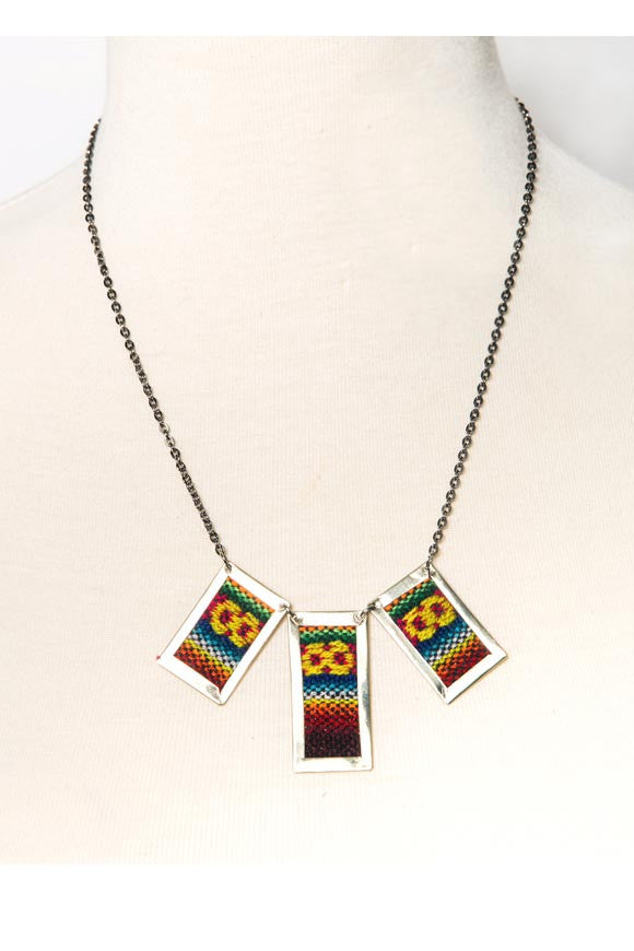 Fair Trade Fabric Necklaces Greenola