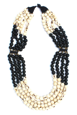 Mamani Necklace Black/Natural