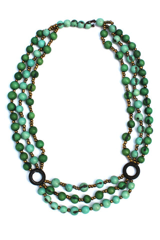 Manuela Necklace Seafoam/Green