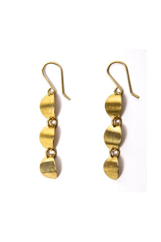 Fair Trade Brass Mutuku Earrings