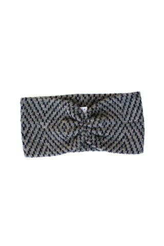 Jewel Headband Slate + Deep Navy