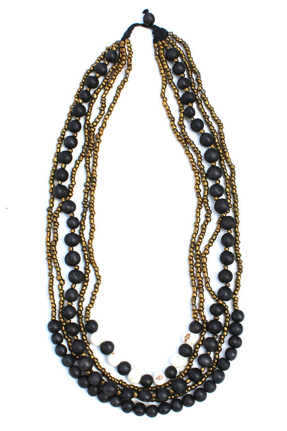 Tupiza Necklace Black Mix