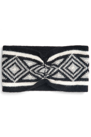 Fair Trade Zoe Headband Black Greenola