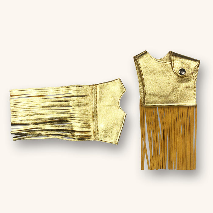 GUANTI PALATINE with Fringes