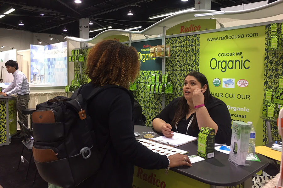 Radico booth at Natural Products Expo
