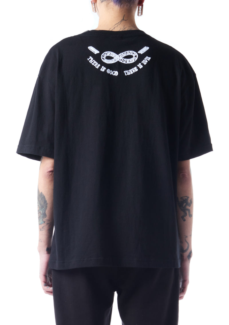Hell Embroidered T-shirt