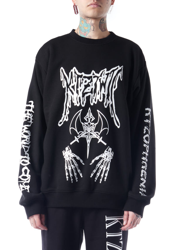 Dead Metal crew neck sweatshirt