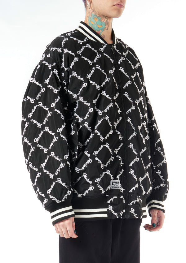Square Latin Bomber Jacket