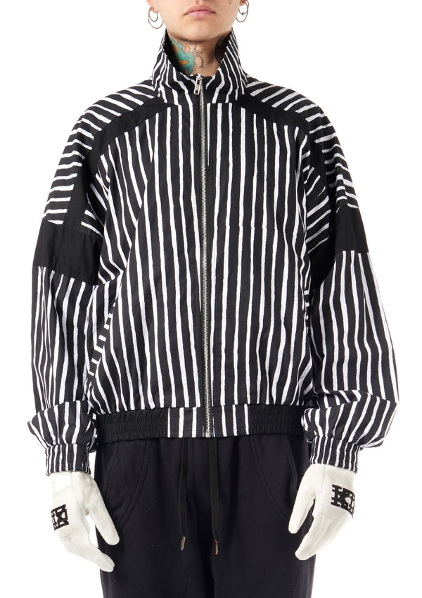 KTZ Archive Striped Bomber Jacket