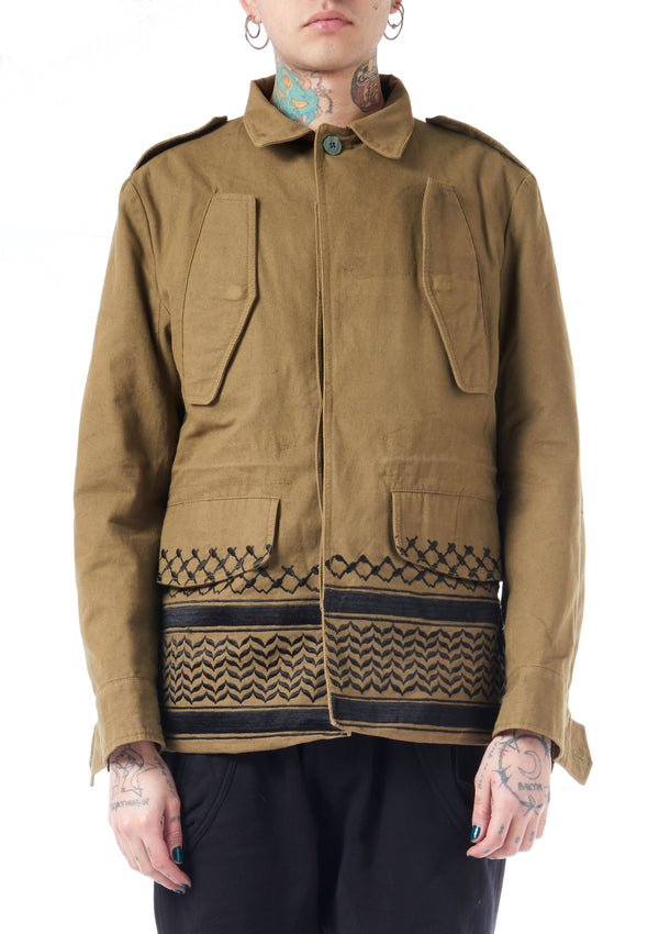 KTZ Archive Embroidered Jacket Shirt