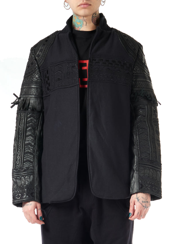 KTZ Archive Leather Tattooed jacket