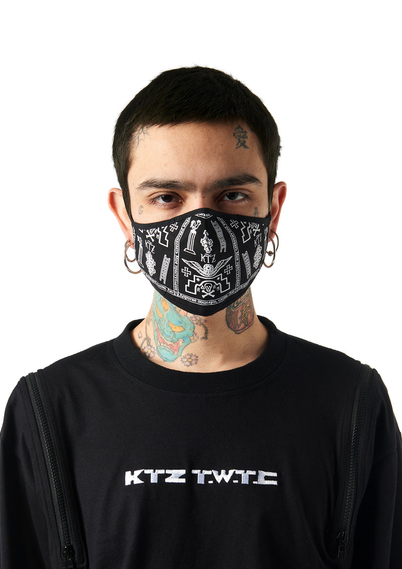 church print graphic studio face mask