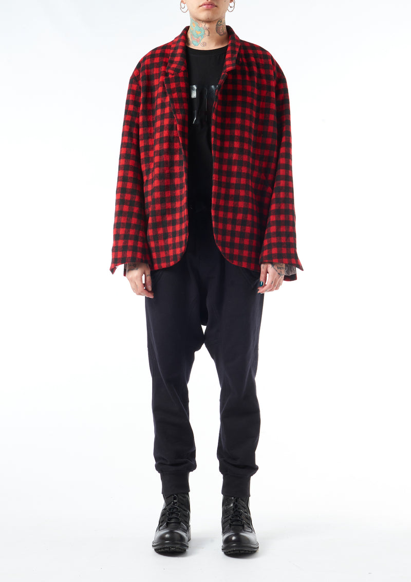 Checked Tartan Jacket
