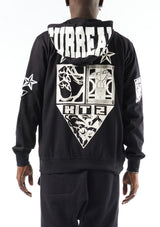 'SURREAL' HOODIE  with PATCHES