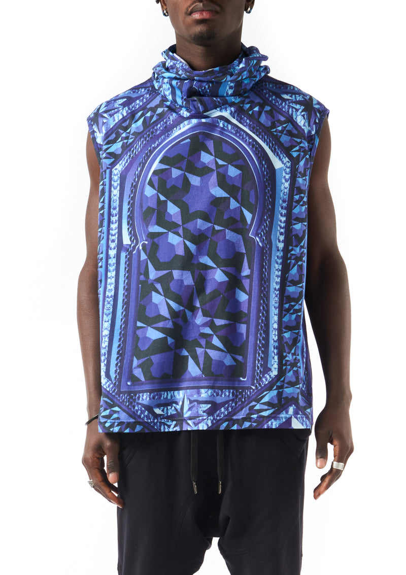 mask vest - gate digital print