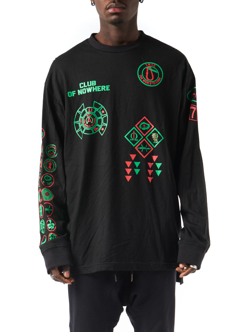 Scout patch Long sleeve T-Shirt