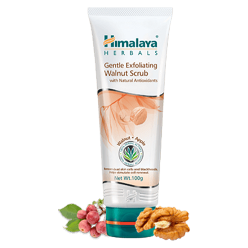 Himalaya Gentle Exfoliating Walnut Scrub - Removes Impurities & Dirt