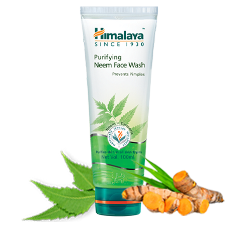 Himalaya Purifying Neem Face Wash - Helps Prevent Pimples & Acne