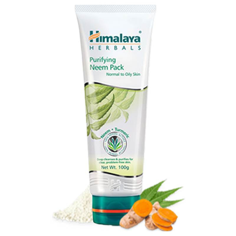 Himalaya Purifying Neem Pack - For Clean, Clear & Healthy Complexion