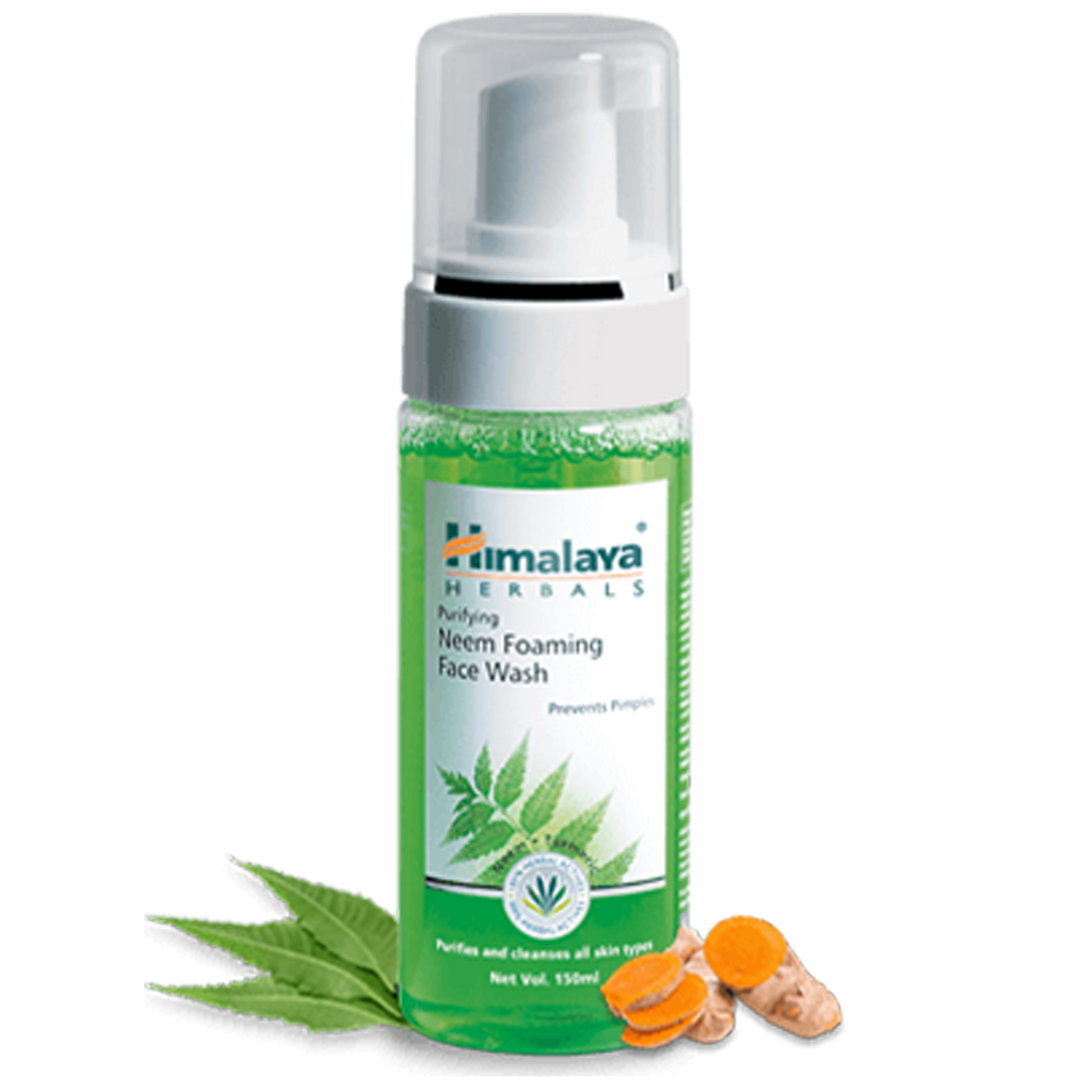 Himalaya Purifying Neem Foaming Face Wash - Prevents Pimples & Acne