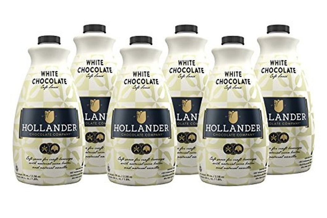 Hollander - White Chocolate Sauce 6 pack